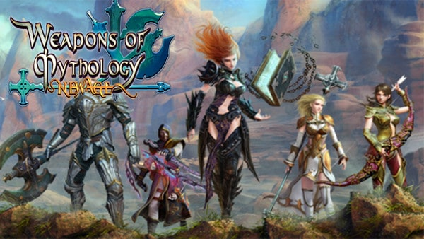 Weapons of Mythology – New Age: Más dosis de MMORPG para finales de año