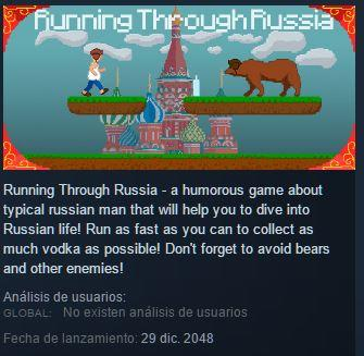 Running Throught Russia