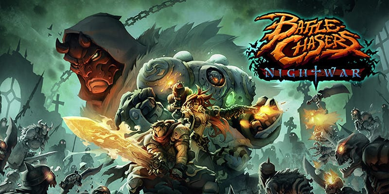 Battle Chasers: Nightwar, el RPG del día se estrena en Steam