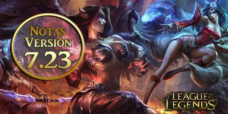 League of Legends – Notas del parche 7.23