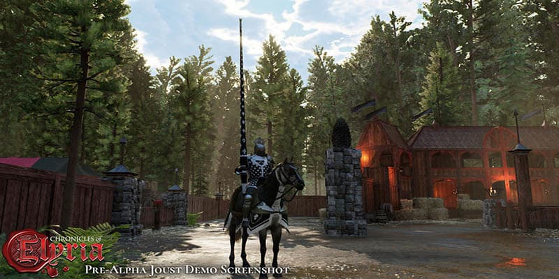 Chronicles of Elyria desecha SpatialOS