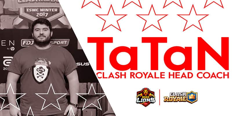 MAD Lions presenta a su Head Coach de Clash Royale