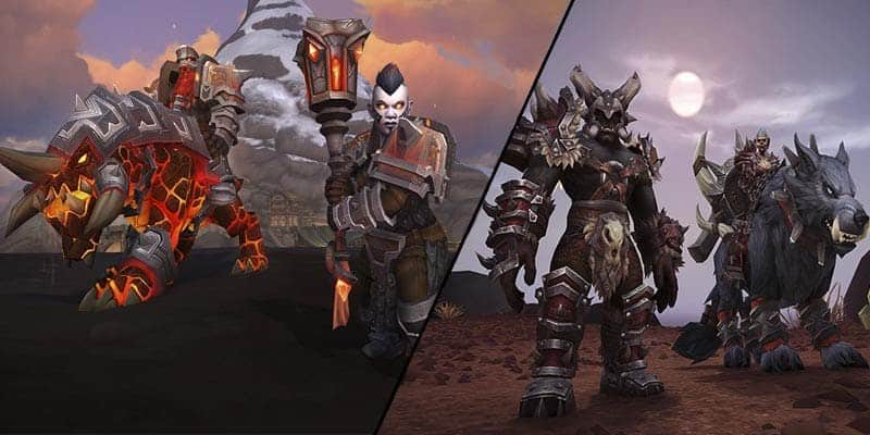 World of Warcraft: Battle for Azeroth – Detalles de los Orcos Mag'har y enanos Hierro Negro