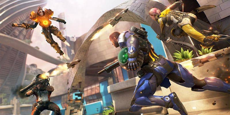 LawBreakers al final llega como free-to-play