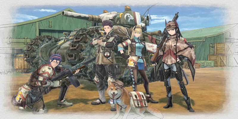 Ya disponible la demo gratuita de Valkyria Chronicles 4