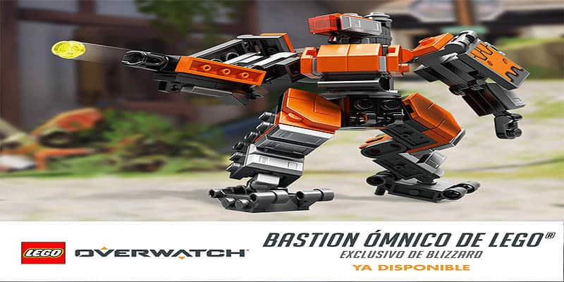 Ya disponible el Bastion ómnico de Overwatch de LEGO