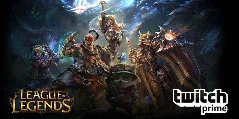 Riot Games y Twitch Prime traen botín gratuito de League of Legends para los jugadores