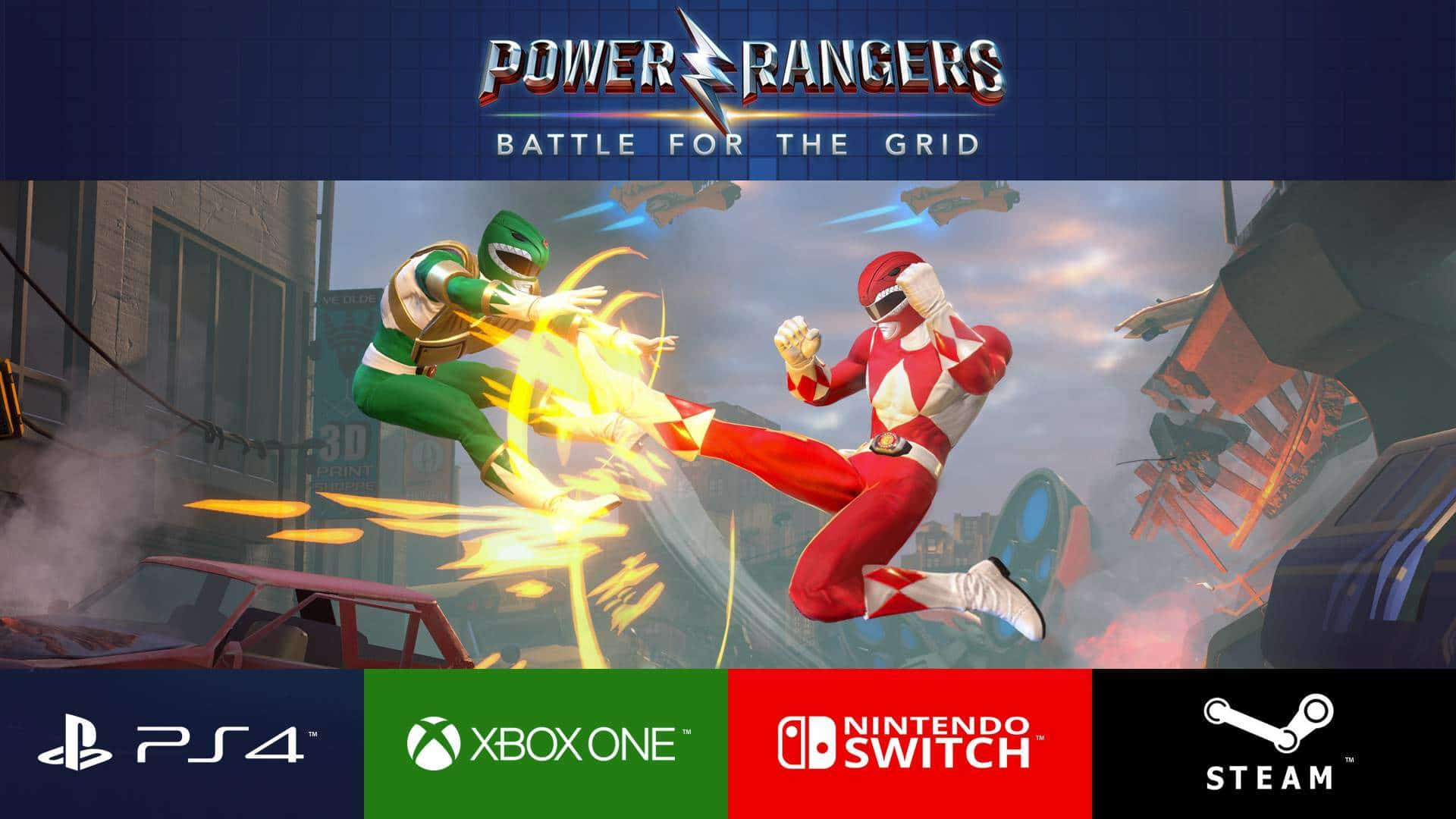 PowerRangersBattlefortheGrid