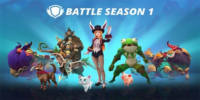 Stunlock Studios anuncia el Battle Season 1 y el Battle Pass para la IP Battlerite