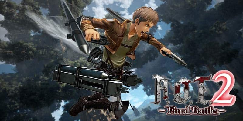 Fecha de lanzamiento A.O.T. 2: Final Battle inspirado en la Temporada 3 de Attack on Titan