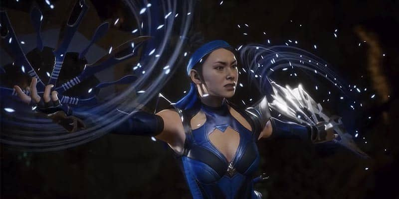 Mortal Kombat 11 – Gameplay Kitana Vs D'Vorah