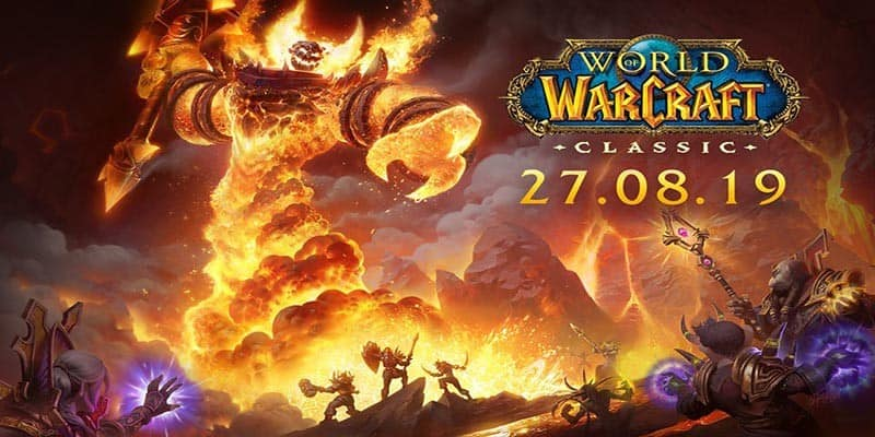 World of Warcraft Classic se lanza el 27 de agosto
