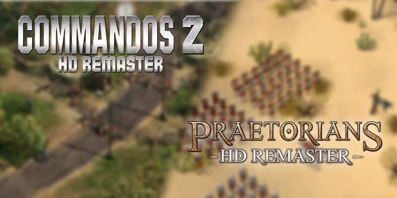 Kalypso Media anuncia Commandos 2 HD Remaster y Praetorians HD Remaster