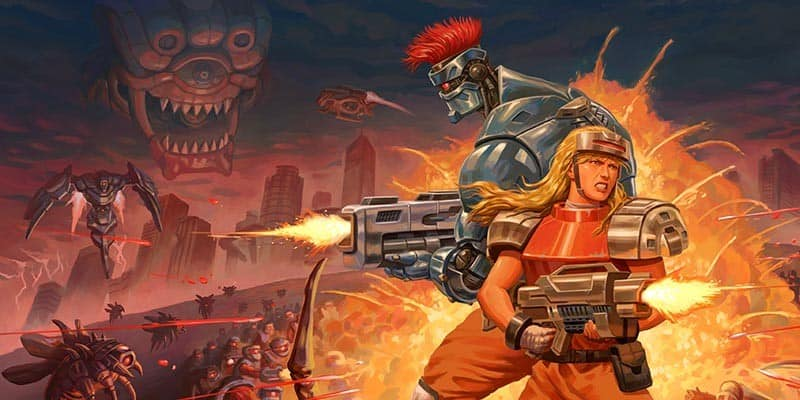 Blazing Chrome ya está disponible