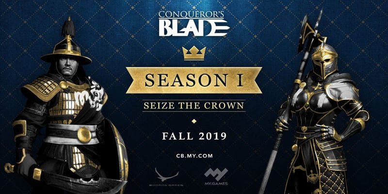 "Conqueror's Blade: Primera Temporada ""Seize the Crown"" en otoño"