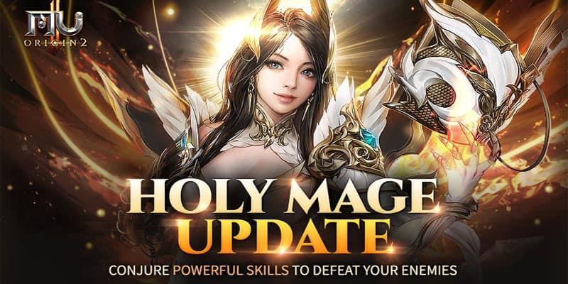 Nueva clase Holy Mage llega a MU ORIGIN 2 con la actualización 2.0