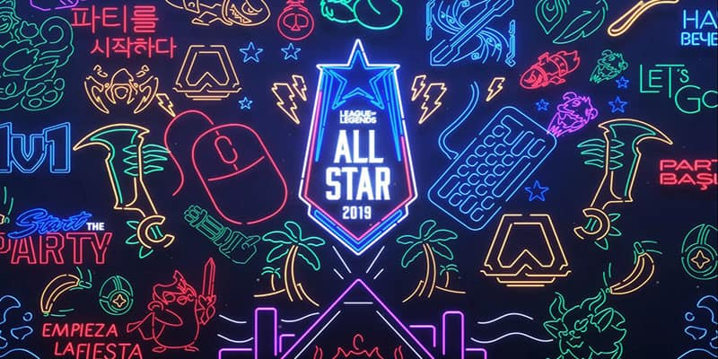 Fecha del All Star 2019 de League of Legends