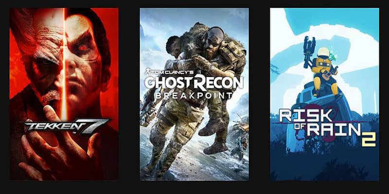 Juega gratis en Xbox a Tekken 7, Tom Clancy's Ghost Recon Breakpoint y Risk of Rain 2