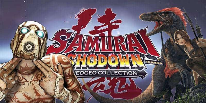 Samurai Shodown Collection, ARK y Borderlands: The Handsome Collection estarán GRATIS en Epic Games Store en el mes de Junio