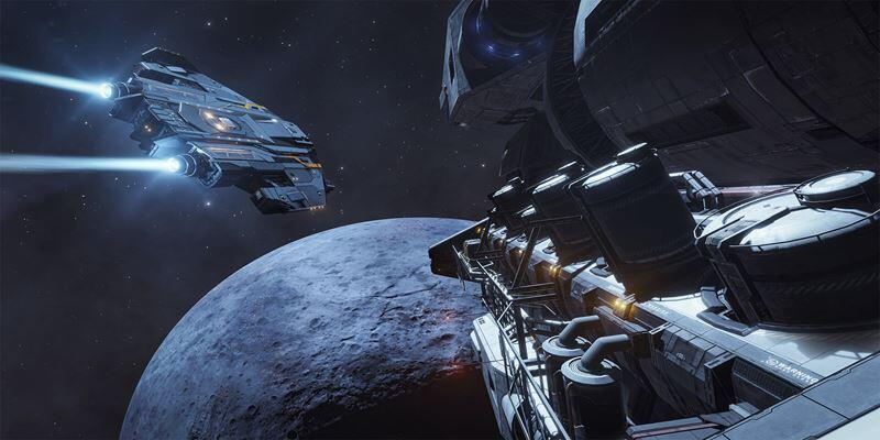 La actualización «Fleet Carriers» para Elite Dangerous ya está disponible