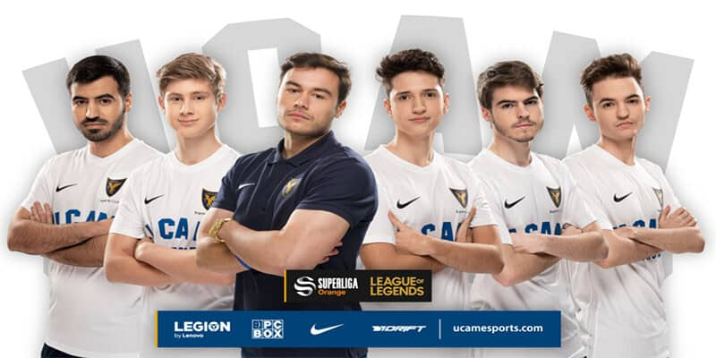 UCAM Esports Club mantiene su 'roster' para la SLO de League of Legends