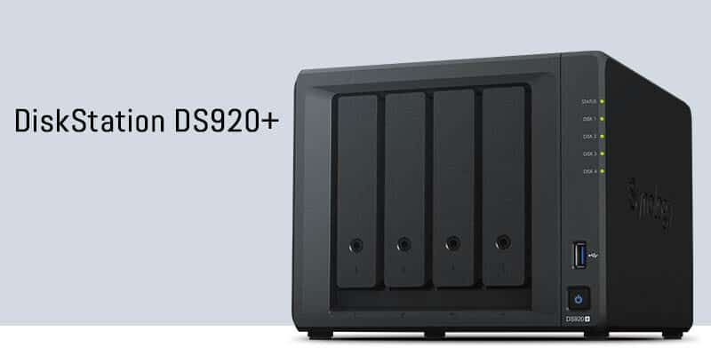 Synology presenta el NAS DiskStation DS920+